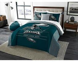 055--> Philadelphia Eagles - 3 Piece KING Printed Comforter