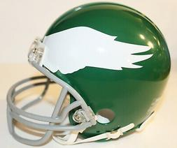 1969 Philadelphia Eagles Custom Throwback Riddell Mini Helme