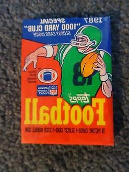1987 Topps Football Wax Pack Fresh from Box!