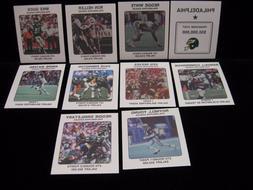 1989 Philadelphia Eagles NFL Franchise Cards ..... Pick from