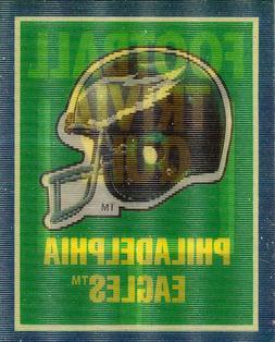 1989 SCORE Philadelphia EAGLES-HELMET TRIVIA-INSERT