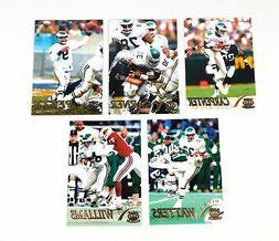 1996 Pacific Gridiron Football Philadelphia Eagles Gold Para