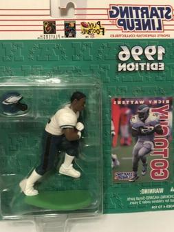 1996 Starting lineup Robert Broooks figure Card Philadelphia