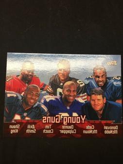 2000 TOPPS NFL #TC6 DONOVAN MCNABB TIM COUCH DAUNTE CULPEPPE