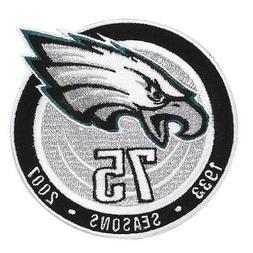 2007 Philadelphia Eagles 75th Anniversary Season Jersey Patc