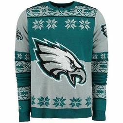 2015 Philadelphia Eagles UGLY Christmas Sweater Big Logo Cre