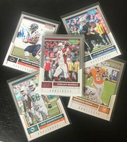 2017 Score SCORECARD Parallel Football Cards - Complete Your