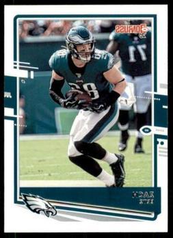 2020 Donruss Base #208 Zach Ertz - Philadelphia Eagles