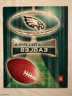 NFL Philadelphia Eagles School Folders Portfolio Notebook P