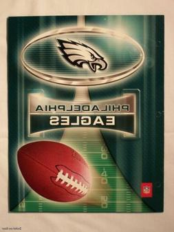 NFL Philadelphia Eagles School Folders Portfolio Notebook