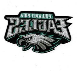 "4.5"" Philadelphia Eagles Iron on Patch Philly Football  free"