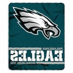 New Northwest NFL Philadelphia Eagles Soft Fleece Throw Blan