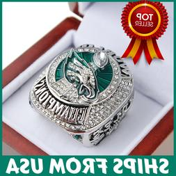 FROM USA - Super Bowl LII Ring 2017 2018 Official PHILADELPH