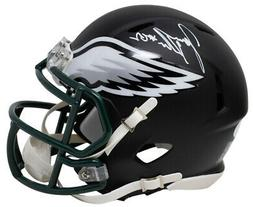 Jason Kelce Signed Philadelphia Eagles Matte Black Mini Spee