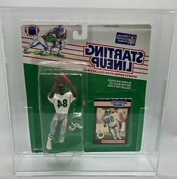 Keith Jackson  1989 NFL Starting Lineup  w/Case