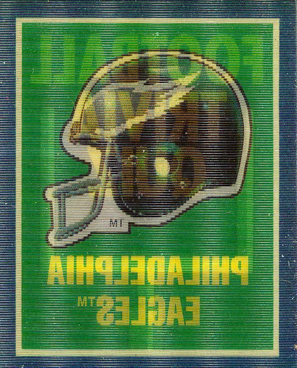 1989 score philadelphia eagles helmet trivia insert