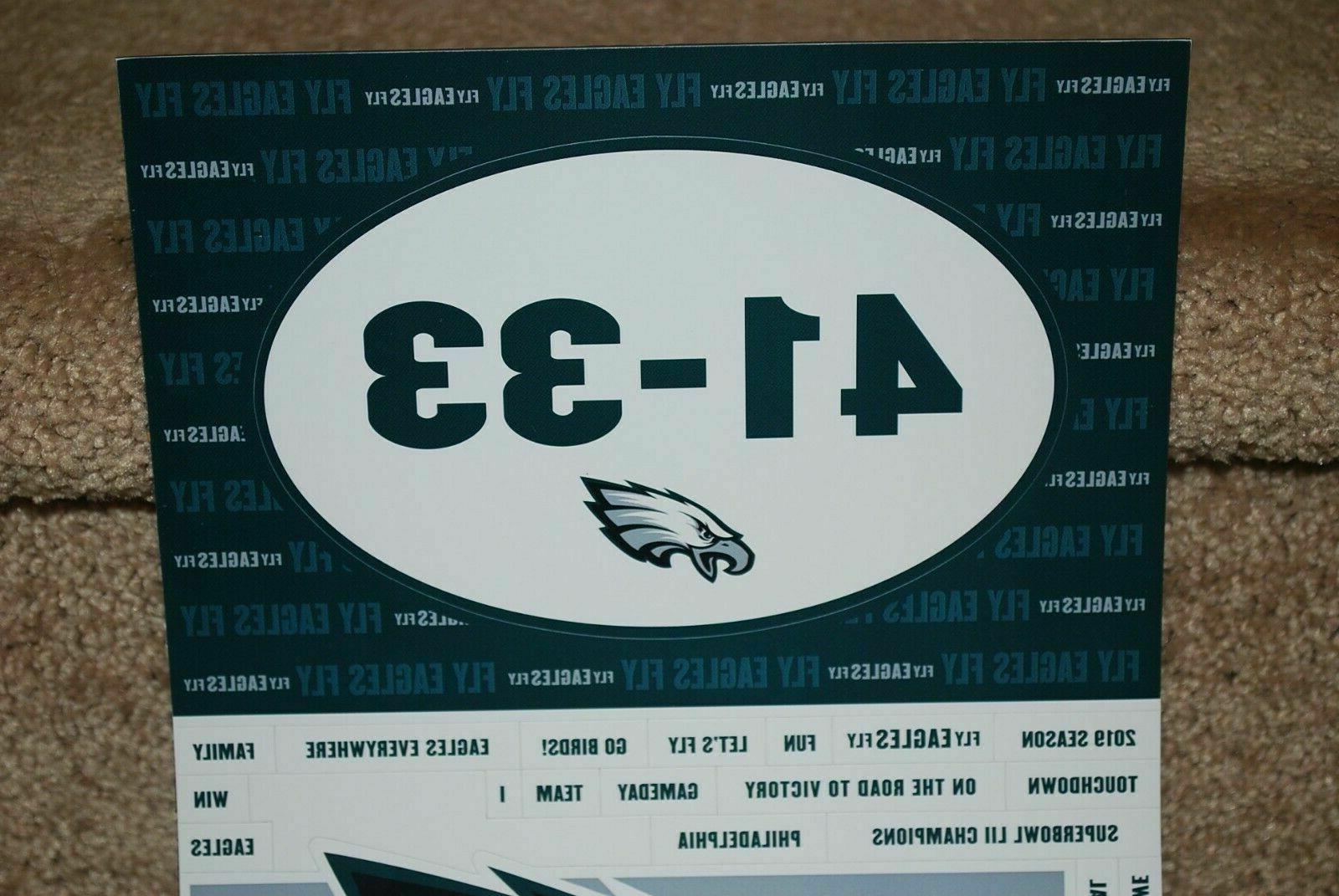 philadelphia eagles super bowl season ticket car