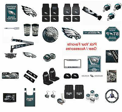 New NFL Philadelphia Eagles Pick Your Gear / Car Accessories
