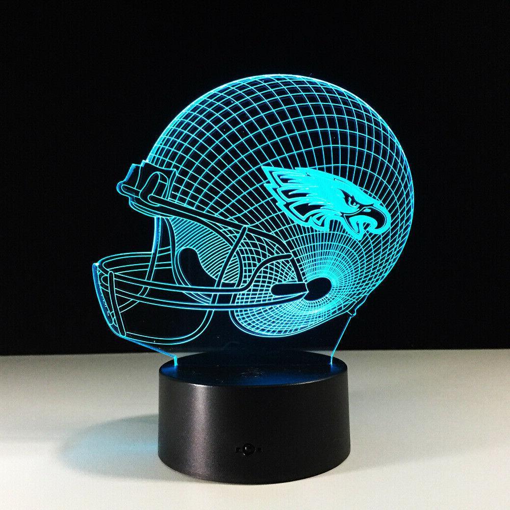 Philadelphia Philly Eagles Carson Wentz Nick Foles LED Lamp