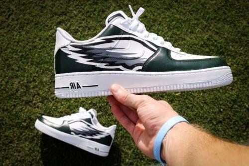 Custom Philadelphia Eagles Nike Air