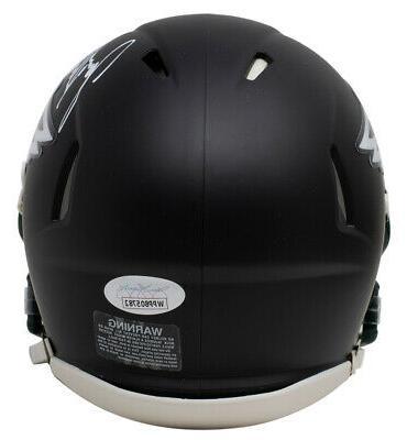 Jason Kelce Eagles Mini Speed Replica Helmet