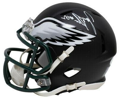 jason kelce signed philadelphia eagles matte black