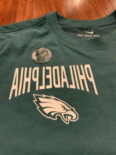 Nike Men's DFCT Green Facility Shirt Medium M