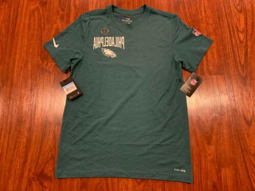 mens philadelphia eagles dfct green facility jersey
