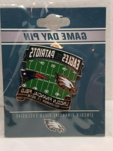 New Philadelphia Eagles GAME DAY PIN
