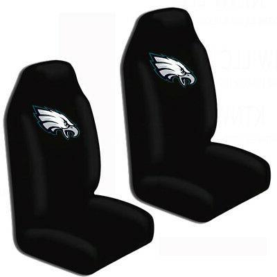 New NFL Eagles Car Truck Seat & Carpet Floor Mats Set