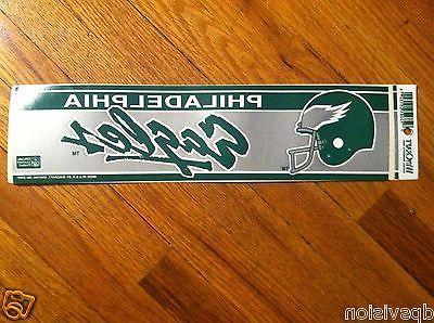 nfl bumper sticker vintage philadelphia eagles decal