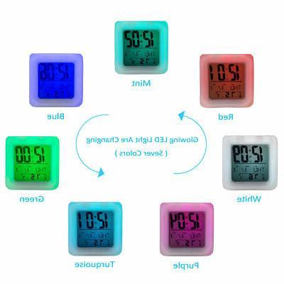 Philadelphia Eagles NFL Digital Alarm Clock Lamp Decor Carson