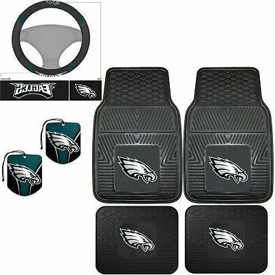 nfl philadelphia eagles floor mats steering wheel