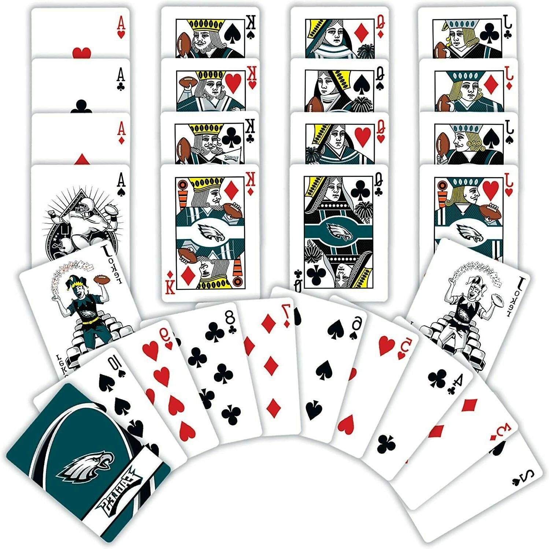 "NFL Philadelphia Cards,Blue 4"" 0.75"" X"