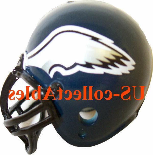 nfl philadelphia eagles replica football helmet keychain