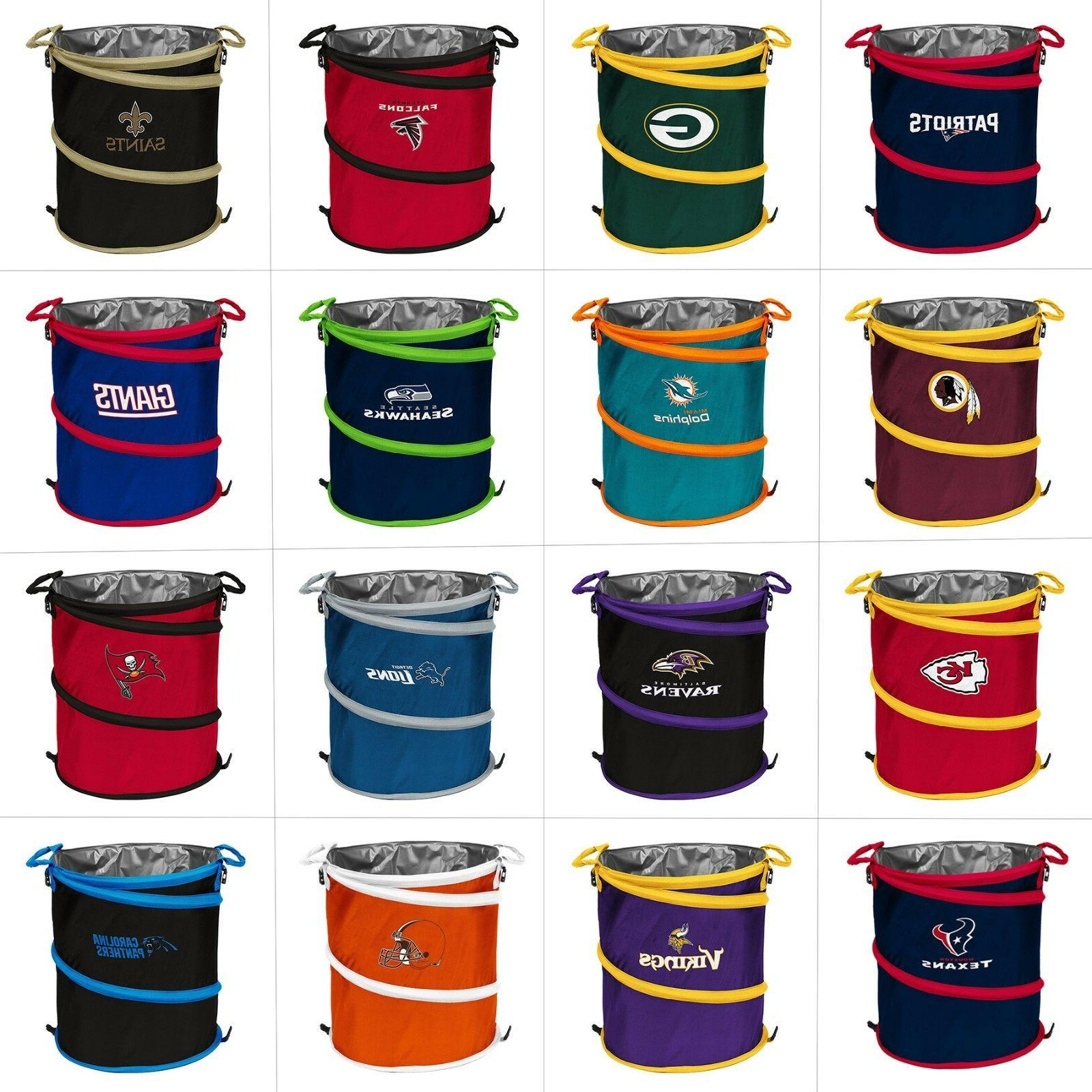 nfl team 3 in 1 collapsible beverage