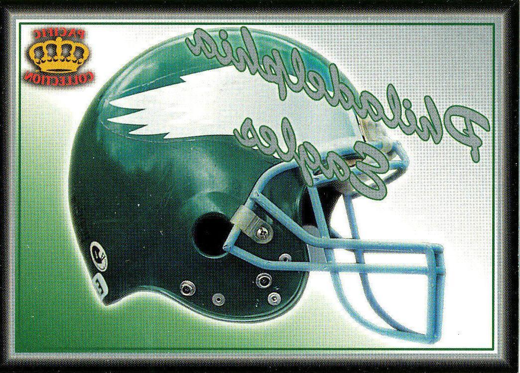 pacific philadelphia eagles helmet insert