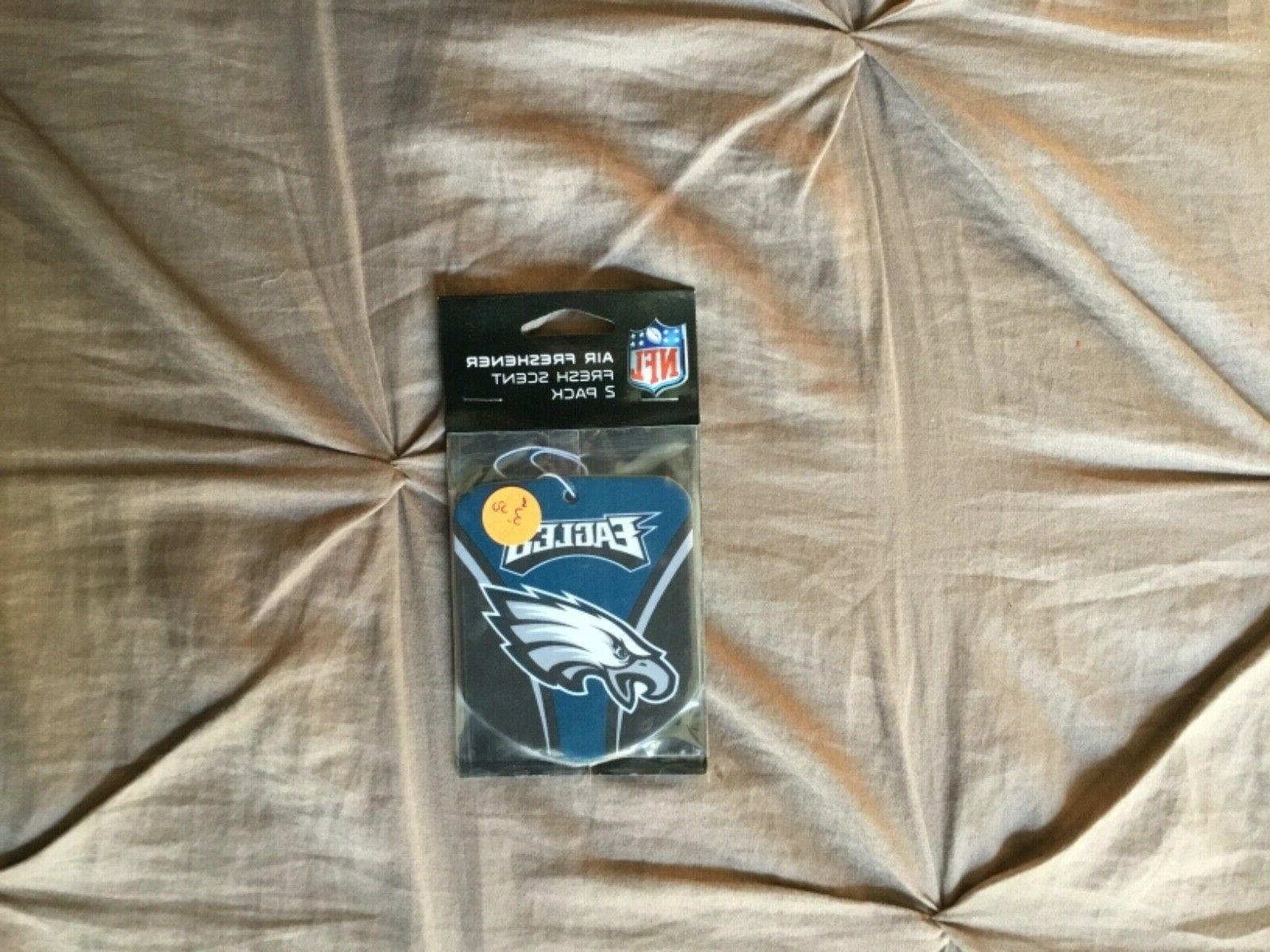 philadelphia eagles air freshener 2 pack