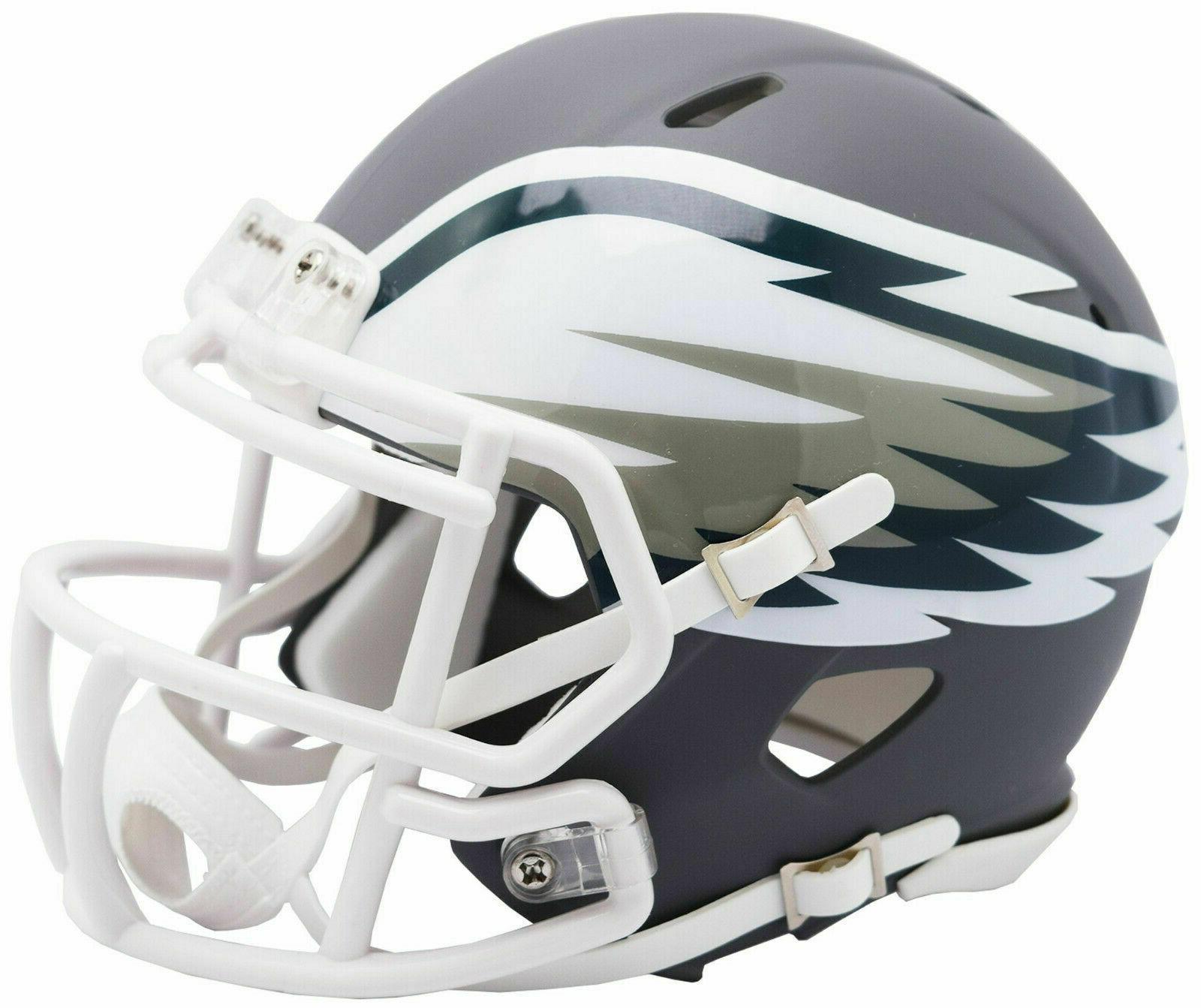 philadelphia eagles amp alternate speed mini helmet