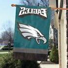 """Philadelphia Eagles 44"""" x 28"""" Applique and Embroidered 2-Sid"""