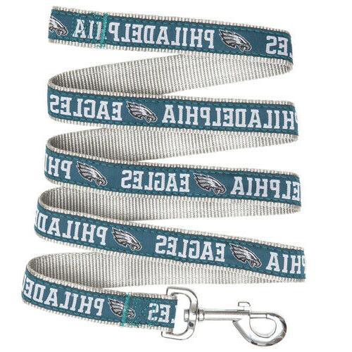 Philadelphia Eagles Dog Leash NFL Football  Nylon Leash 4 Ft