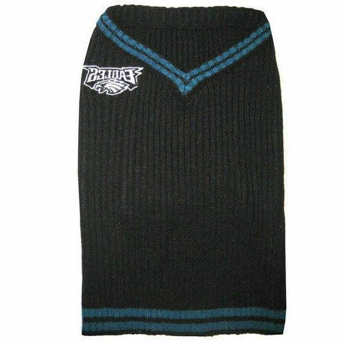 Philadelphia Eagles Dog Sweater S Size SMALL NFL Football Pe