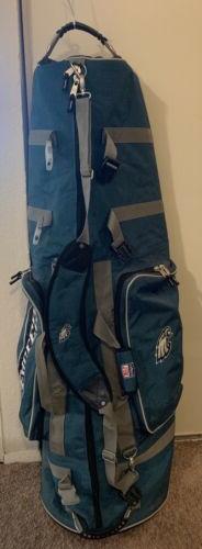 Philadelphia Eagles Golf Club Travel Bag On Wheels