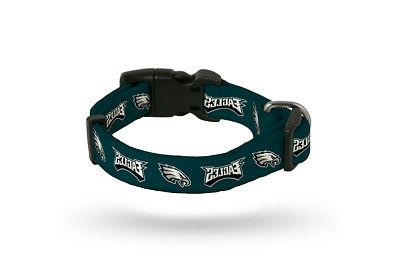 philadelphia eagles small adjustable dog pet nylon