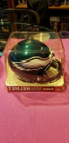 philadelphia eagles mini football helmet