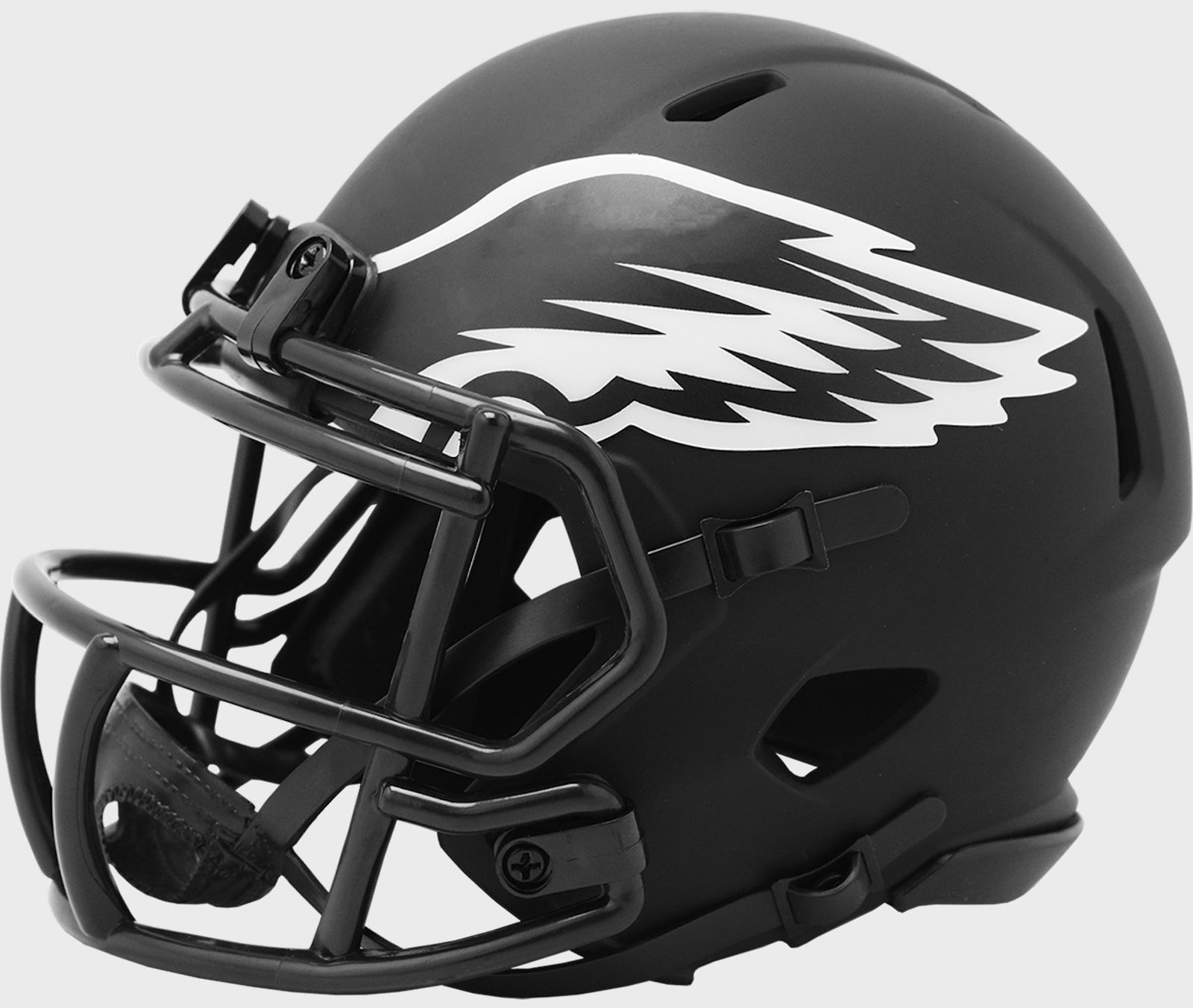 philadelphia eagles nfl speed mini football helmet