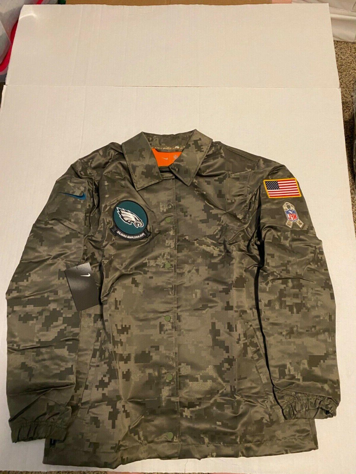 philadelphia eagles salute to service 2019 jacket