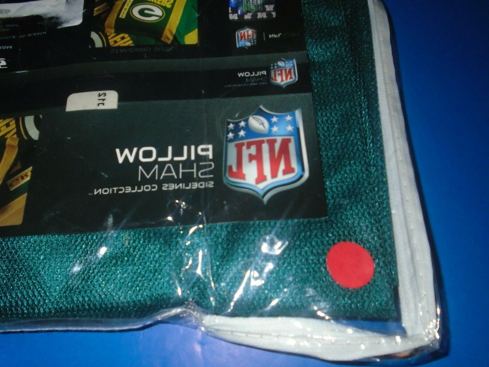 Philadelphia Eagles Sports Sideline Collection Sham NEW