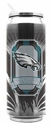 philadelphia eagles stainless steel thermo can 16