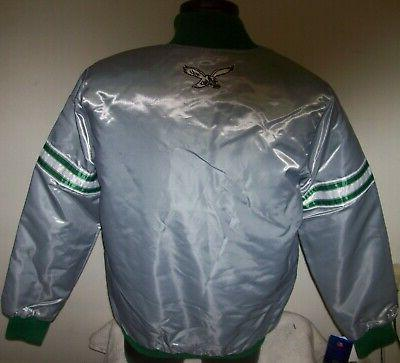 Philadelphia EAGLES Starter Snap Jacket S, M, 2X